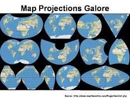 Map Projection Open Source Geospatial Data Libraries