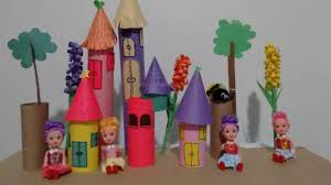 how to make a princes castle toilet paper roll art and craft