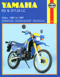 yamaha rd u0026 dt125 lc 82 87 haynes repair manual haynes manuals