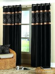 Black Gold Curtains Black And Gold Bedroom Curtains Fabulous Black Gold Curtains