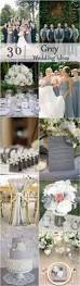 30 timeless grey and white fall wedding ideas gray wedding