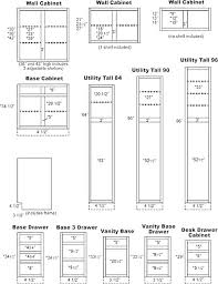 Cabinet Door Dimensions Standard Kitchen Cabinet Door Sizes Pathartl