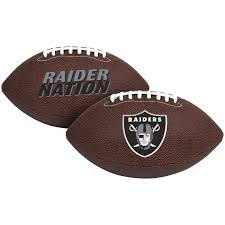 Raiders American Flag Air It Out Youth Football