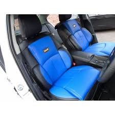 housse de si es auto adapté à hyundai i20 active voiture housses de siège ys 02 bleu