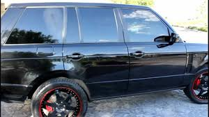 range rover custom wheels 2006 land rover range rover supercharged 22