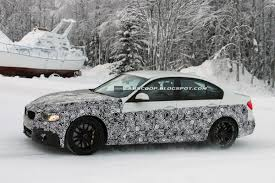 Bmw M3 Sedan - spy shots new bmw m3 sedan dashing through the snow