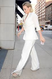all white casual hilary duff sports all white casual pimp suit in freezing