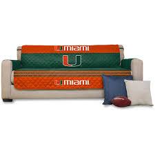 Sofa Protector Miami Hurricanes 75