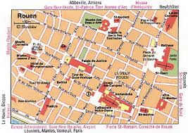 map of rouen 11 top tourist attractions in rouen easy day trips planetware
