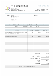 printable invoice template excel invoice template excel 2017 free invoice template