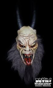 Krampus Costume Devil U0027s Workshop Krampus Mask Blood Curdling Blog Of Monster Masks