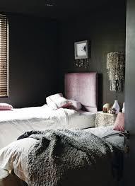 Dusty Pink Bedroom - dark bedrooms for the dark season vkvvisuals com blog