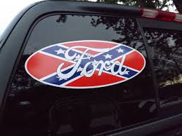 Confederate Flag Rear Window Decal The American Cowboy Chronicles March 2015