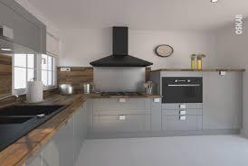 cuisine bois et gris cuisine bois et gris best of cuisine aquipae grise bois moderne