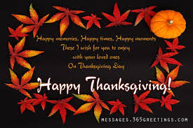 thanksgiving wishes for everyone