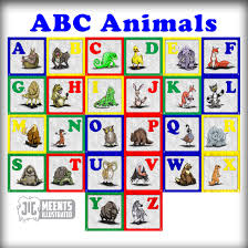 abc animals a to z book page print u2039 meents illustrated