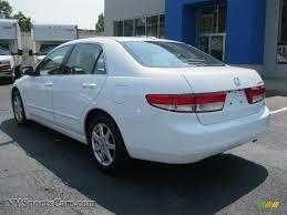 honda accord ex 2004 2004 honda accord ex v6 sedan in taffeta white photo 3 044883
