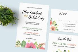 wedding invitations psd free wedding invitation set free design resources