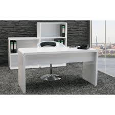 white high gloss desk high gloss computer desk white home garden for executive computer