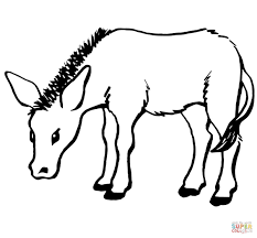 mule coloring pages getcoloringpages com