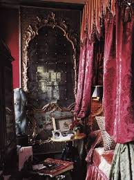 gothic inspired bedroom