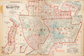 Rochester Ny Map Maps Of Rochester Ny And Area Editions Printing