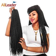 crochet braids hair alileader made 3s crochet box braids hair 12 16 20 24 inch