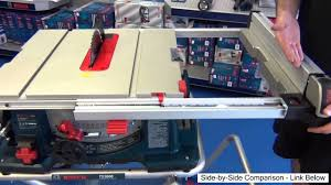 Contractor Table Saw Reviews Bosch Table Saw 4100 09 Unbiased Review 2013 Youtube