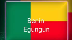 Benin Flag Benin Egungun Youtube