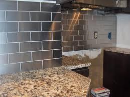 stainless steel kitchen backsplash tiles stainless steel backsplash tile remarkable innovative home