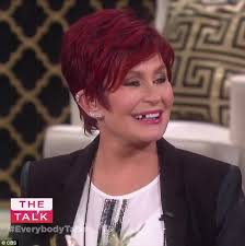 how to get sharon osbournes haircolor sharon osbourne loses a pearly white live on television filming