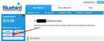 direct deposit card bluebird card direct deposit bluebird american express card help