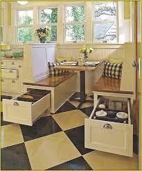 Kitchen Table With Storage Corner Nook Kitchen Table With Storage Home Design Ideas