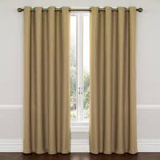 blackout curtains home theater eclipse wyndham blackout latte curtain panel 84 in length