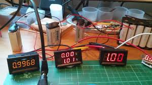 testing a few cheap led ammeters bought on ebay youtube