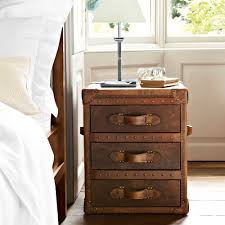 Leather Trunk Bedside Table Google Search Home Ideas Pinterest