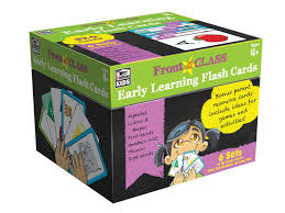 amazon com grades pk 3 early learning flash cards thinking