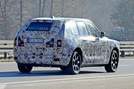 roll royce cullinan rolls royce cullinan shows suvesque body during pre production