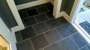 slate floor in the front orbited by nine moons