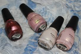 4 pink toned nail lacquers from sinful colors u2013 glass pink social