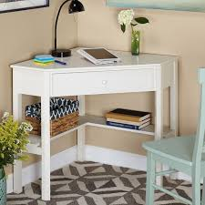 Small Treadmills For Small Spaces - corner desk white wood office top small desks for spaces features