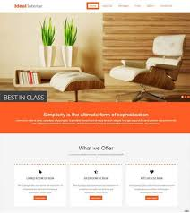 bootstrap design ideal interior design free bootstrap website template