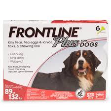 frontline plus flea u0026 tick control for dogs drsfostersmith com