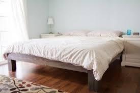 Diy Platform Bed Simple Platform Beds Foter