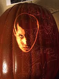 pumpkin carving letter templates bask in the spooky glow of this stranger things pumpkin carving image courtesy of brad starr