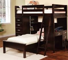 twin bunk bed with desk home design ideas