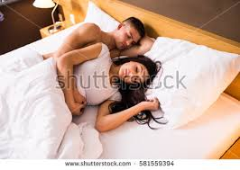 Girls In Bed by Couple Sleeping Stock Images Royalty Free Images U0026 Vectors