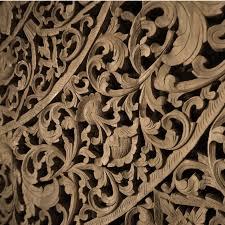 carved wooden wall panel white wood door spain mermaid