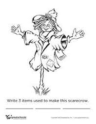 1st grade reading worksheets friendly scarecrow greatschools