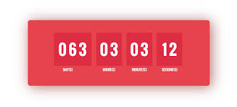 bold colors how to create a bold yet elegant colorful countdown timer module